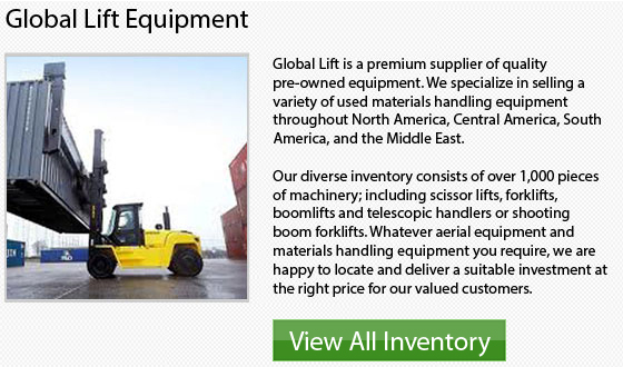 Used Mitsubishi Forklifts - Inventory Canada top